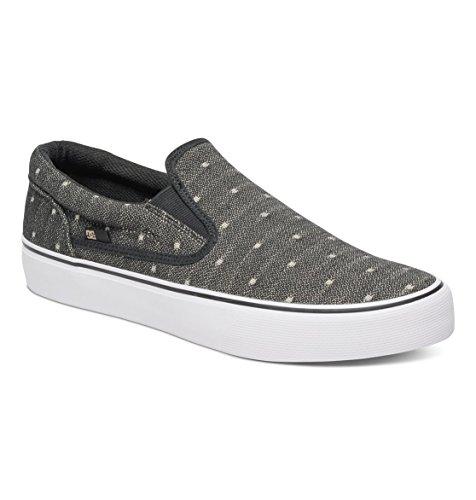 DC Shoes Trase T M, Baskets Basses Homme Noir - Black/Tan