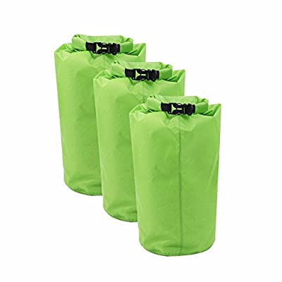 Candora® 15L Waterproof Dry Bags for Boating, Kayaking, Fishing, Rafting, Swimming, Camping, Hiking,Rafting,Beach/ Outdoors Water Sports Stylish Portable Dry Sack by Candora
