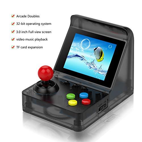 Kaufen 512 Mb Ram (Anbernic Handheld Spielkonsole , Retro Spielkonsole 3 Zoll 520 Klassische Retro Konsole - Transparente Schwarz)