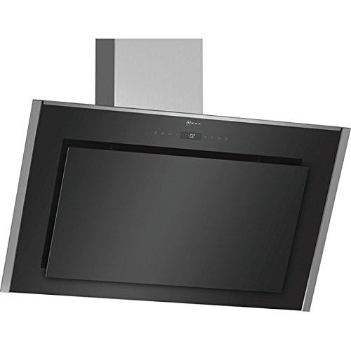 NEFF - Hotte décorative inclinée 90cm 840m3/h noir - D96IMS1N0