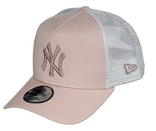 New Era New York Yankees MLB Trucker Cap New Era Damen Baseball Verstellbar Pink - One-Size Panel-mesh-cap