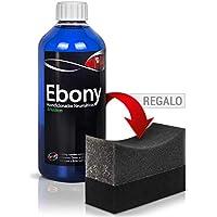 Ebony Acondicionador/Protector de neumáticos | Negro duradero | Brillo satinado | Acabado Seco y no pringoso.