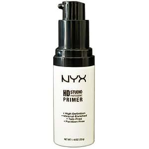 NYX - Maquillage professionnel - Base de fond de teint - Hydratant et Correcteur - HD Primer NXHDP