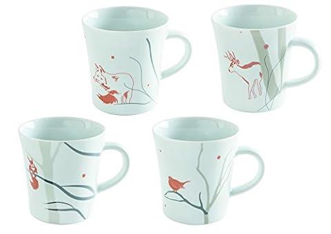 Kahla 32a148a76847C Mug Set Mise à jour d'hiver S TALE,