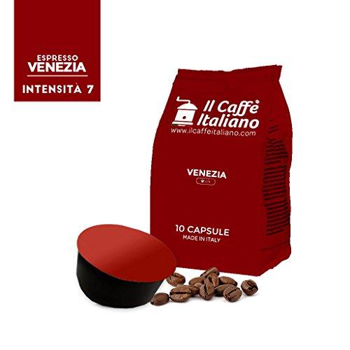 100 Cápsulas de Café compatibles Lavazza Blue - Mezcla Venezia - Il Caffè italiano - FRHOME