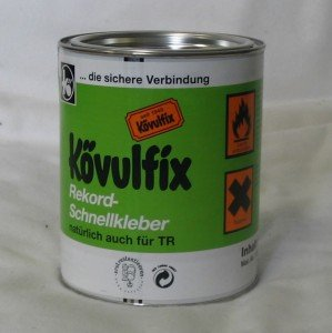 600 gr Dose Kövulfix Universalkleber Textilkleber für Leder Stoff uvm.