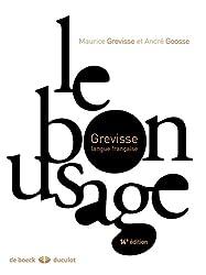 Le bon usage : Grammaire française
