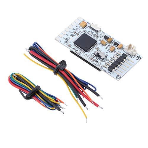 Almencla Gamecontroller X360 ACE V4 Modul Board Pulse Mod Chip Mit Kabel Draht Fit Für Microsoft XBox 360 Slim Rapid-ic-chip