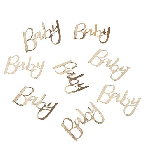 Konfetti Goldfolie Oh Baby 14g