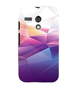 For Motorola Moto G :: Motorola Moto G (1st Gen) :: Motorola Moto G Dual Desert, Multicolor, Desert Pattern, Lovely pattern, Printed Designer Back Case Cover By CHAPLOOS