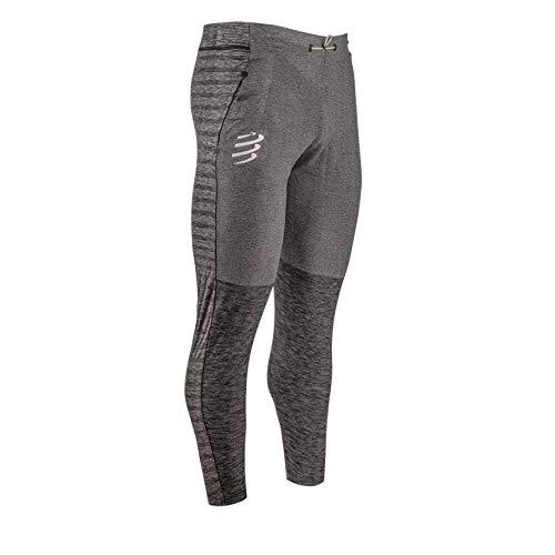 webinero Compressport Seamless Pants grau Melange | stylische, vielseitige Jogginghose mit optimaler Wärmeregulierung zum Aufwärmen, Abkühlen oder Entspannen (L)