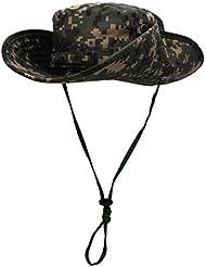 Outfly El cubo de camuflaje tiene un sombrero resistente a la lluvia de Bush militar Unisex