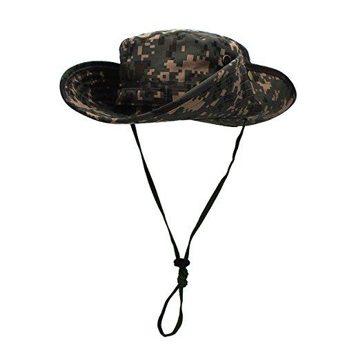 Outfly El cubo de camuflaje tiene un sombrero resistente a la lluvia de  Bush militar Unisex 6617aa5d834