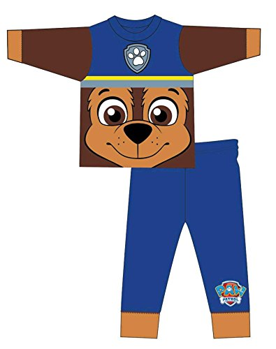 Ryder Patrol Paw Kostüm - Jungen Paw Patrol Chase Kostüm Neuheit Pajama 18-24 Monate
