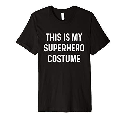 Lustiges Superheldenkostüm Hemd Idee zu ()