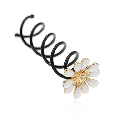 Bud/ Haar/ Spirale Clip Brautschmuck-A (Einfach Pin Up Haar)