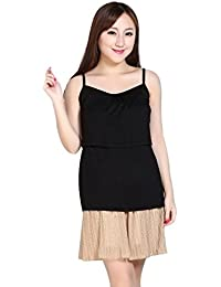 31be48bf63cedf Sunward Women s Pregnant Maternity Clothes Nursing Tops Breastfeeding Vest  T-Shirt One Size Black camisole