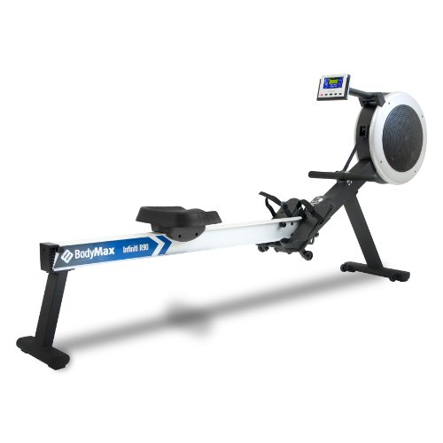 41GHZ5fluXL. SS500  - Bodymax Infiniti R90 Rowing Machine - White