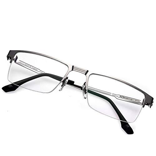 WFENG Smart Zoom Alte Brille,In Der Nähe Und Dual-Use-Hd-Lesebrille,Männer,Frauen Ultraleicht/grau / +1.5