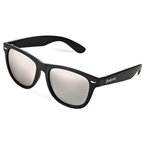 Duduma Verspiegelte Wayfarer Sonnenbrille Reflektierende Revo Farbe Fashion Unisex Vintage Style...