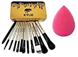 KYLIE Professional Makeup Brushes Kit with A Storage Box - Set of 12