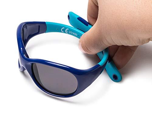 77dd538dc0 Kiddus Allroad Gafas de sol bebés niño niña, 0 meses a 2.