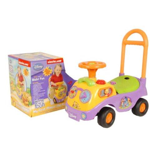 Disney - 96939 - Vélo et Véhicule pour Enfant - Porteur Voiture Musique et Lumière - Winnie l'Ourson x1