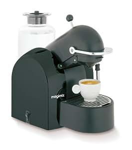 magimix nespresso m200 coffee maker black kitchen home. Black Bedroom Furniture Sets. Home Design Ideas