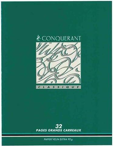 PAPETERIES HAMELIN Lot de 25 Cahiers 90g carte vernie Apprentissage de l'écriture 17x22 cm 32 pages SEYES 3 mm