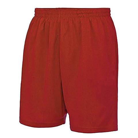 AWDis - Short - Homme - rouge - Medium