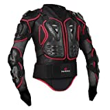 TOPY Motorrad Ganzkörper Rüstung Jacke Wirbelsäule Brustschutz Ausrüstung Motocross Motos Schutz Motorrad Jacke, s