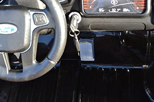 RC Auto kaufen Kinderauto Bild 6: SL Lifestyle Kinderauto Elektro Ford Ranger Vollausstattung R/C Weiss - Mit großem 12V/10Ah Akku 2 Motoren; Kinderautos elektrisch mit original Lizenz*