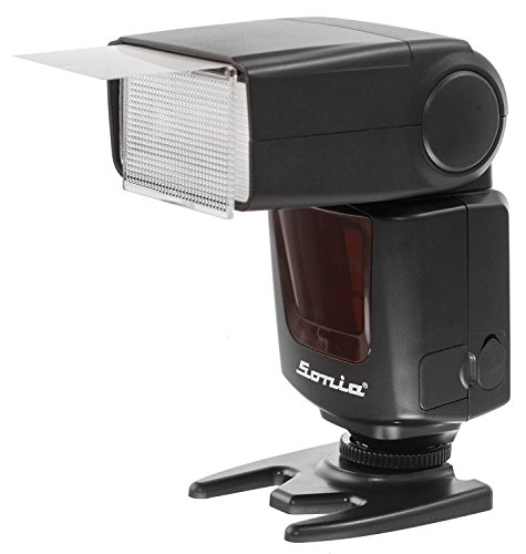 SHOPEE Sonia SPEEDLITE Camera Flash VT-631 INBUILT RADIO TRIGGER WITH TRANSMITTER for Nikon, Canon, Sony, Olympus, Pentax & all other DSLR Cameras GN42  available at amazon for Rs.3499