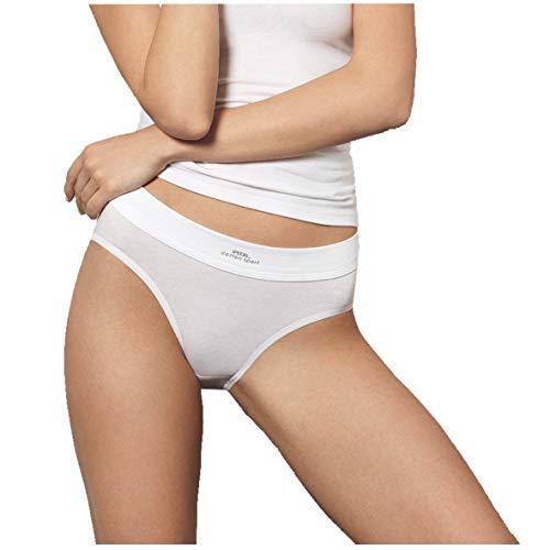 Speidel Bikinislip Cotton Sport, 5er-Pack 9360, Weiss, 42 - Cotton Bikini Slip