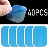 FUZHEN 20 Sets of 40 Pads Abs Trainer Replacement Gel Sheet for EMS AB Trainer, Waist Trimmer Belt, ABS Toner Body Muscle Tra