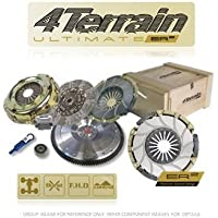 4Terrain Ultimate Kit de embrague premium para Nissan – 4 Terrain ER2 Heavy Duty cubierta de