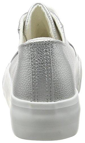 New Look 5099883, Scarpe da Ginnastica Basse con Piattaforma Donna Argento (Silver)