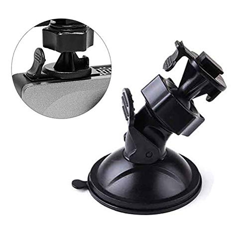 Car Dashcam Halterung für YI Smart/Compact Dashcam, iMusk Langlebige ABS Plastik Saugnapfhalterung für YI Car Dashcam (Saugnapf)