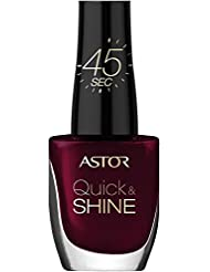 ASTOR Quick & Shine Nagellack, Glass of wine, 1er Pack (1 x 8 ml)