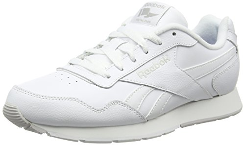 Reebok Herren Royal Glide Turnschuhe, Weiß  (White / Steel / Reebok Royal), 42.5 EU