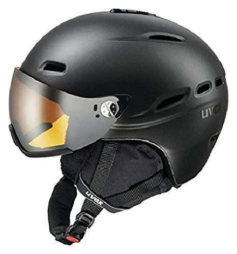 UVEX Skihelm hlmt 200, Black Mat, 55-58 cm, S5661764405