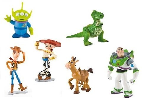(Bullyland 6 Figuren aus Toy Story 3)