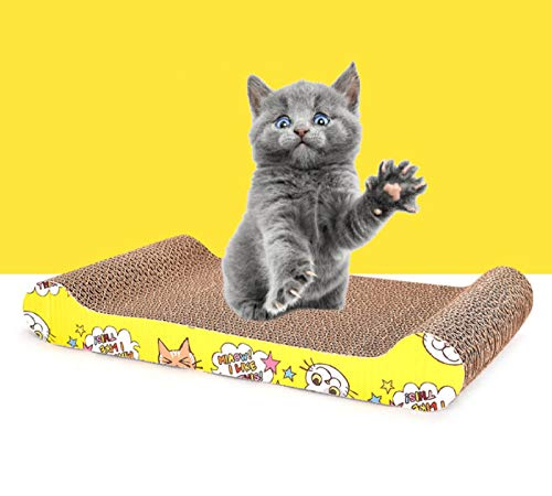 LIUQIAN Haustier Spielzeug Papier Katze Kralle Gerät Katze Bettsofa Katze greifen Board gewellte Papier