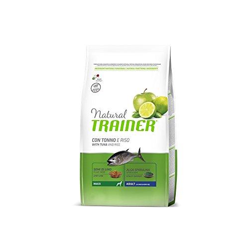 Nature7 Reis-Thunfisch Natur Maxi, Lebensmittel Trockenfutter für Hunde, 12 kg