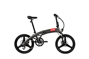 compact folding ebike electric folding bike electric. Black Bedroom Furniture Sets. Home Design Ideas
