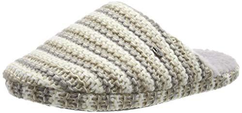 ESPRIT Damen Doni Knit Mule Pantoffeln, Grau (Pastel Grey 050), 42 EU