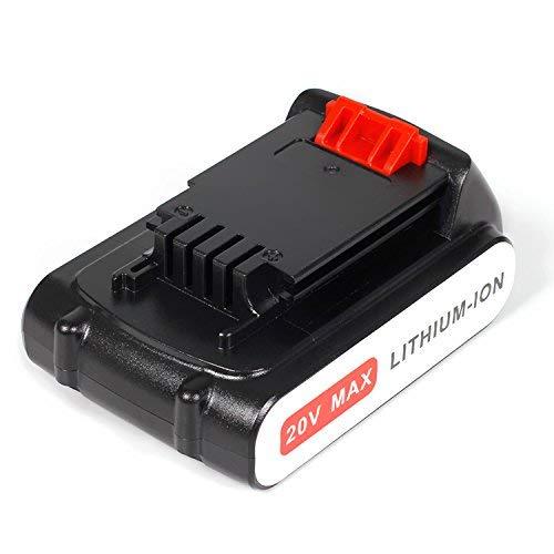 Lenoge Ersatz-Akku für Black & Decker LBXR20 LBXR2020-OPE LB20 LBX20 BL2018-XJ GKC1825L GTC1850L20 STC1820
