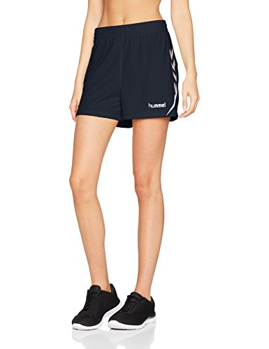 Hummel Damen Auth. Charge Poly Shorts, Total Eclipse, S
