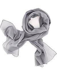 8c00202bfe5fd1 Dolce Abbraccio Damen Schal Stola Halstuch Tuch aus Chiffon für Frühling  Sommer Ganzjährig
