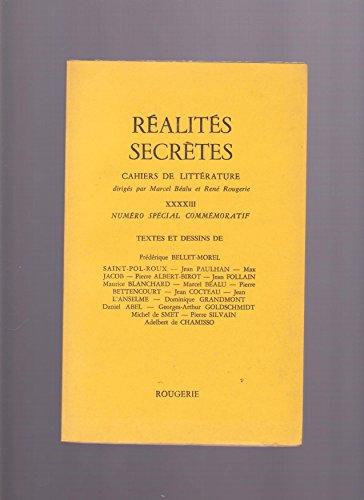 Ralites Secrtes XXXXIII (43) - numro spcial commmoratif